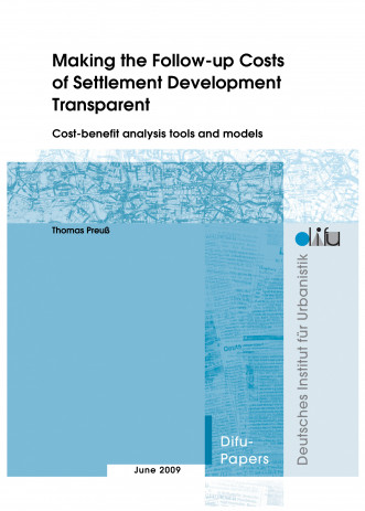 Cover: Making the Follow-up Costs of Settlement Development Transparent