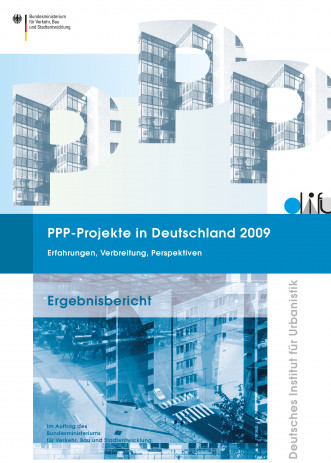 Cover: PPP-Projekte in Deutschland 2009