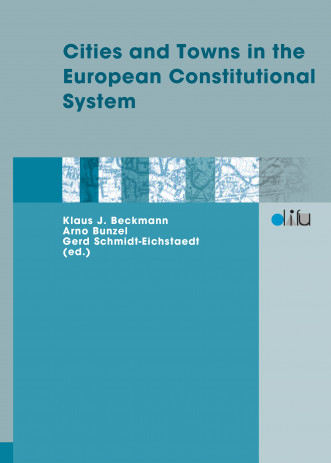 Cover: Cities and Towns in the European Constitutional System