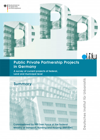 Cover: Public Private Partnership Projects in Germany