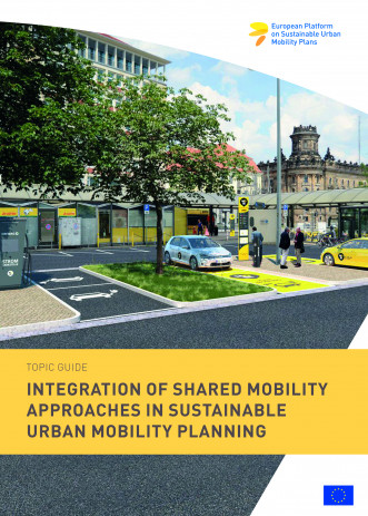 Cover Integration of shared mobility approaches in Sustainable Urban Mobility Pl